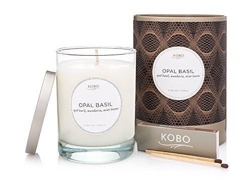 Preisvergleich Produktbild Kobo Candles Kobo Soy Candle,  Opal Basil by Kobo Candles
