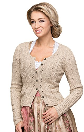 Stockerpoint Trachten Strickjacke Liz natur, 38