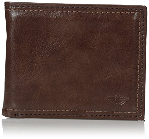Dockers Men's Vado Passcase Wallet, Brown, One Size (Wallet Braun Passcase)