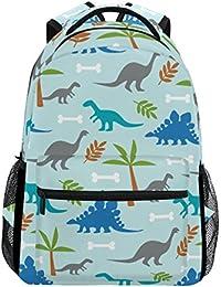 Preisvergleich für COOSUN Dinosaurier zufällige Rucksack Schultasche Reise Daypack Mehrfarbig