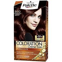 Schwarzkopf - Palette - Coloration Permanente Cheveux - Chocolat Griotte 860