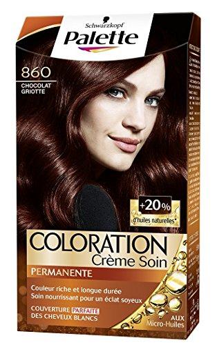 Schwarzkopf - Palette - Coloration Permanente - Chocolat Griotte 860