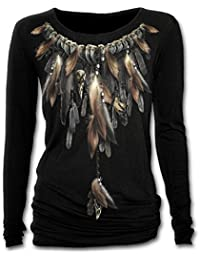 Spiral - Women - NATIVE SPIRIT - Baggy Top Black