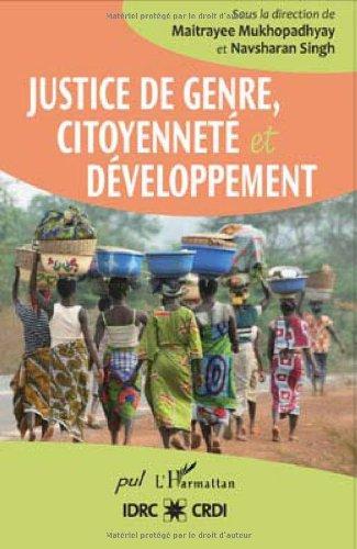 Justice de genre, citoyenneté et développement