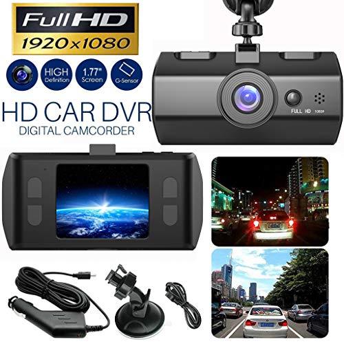 HD 1080P Coche DVR Vehículo Cámara Grabadora de Video Dash Cam Night Vision 1.7 pulgadas