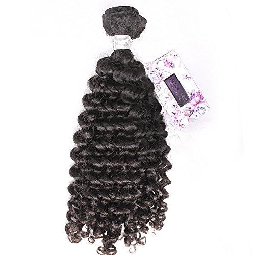 Bella Hair 100 % Cheveux Tissage Humains de Vierge Lâches Bouclés Vague 1 Bundle 10\
