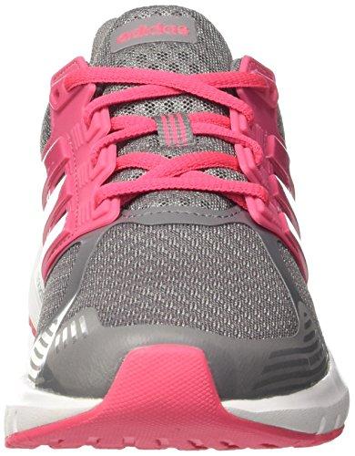 adidas Duramo 8 W, Scarpe Running Donna Grigio (Grey Three/real Pink/real Pink 0)