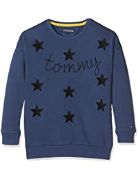Tommy Hilfiger D Star Cn Hwk L/S, Sweat-Shirt Fille