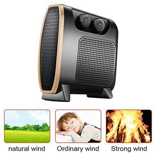 Whelsara Calentador De Aire Acondicionado Pequeño