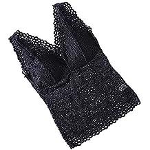 Tops Mujer,ZARLLE Women Crochet Tank Camisole Chaleco de Encaje Blusa Bralette Sujetador Cultivar Top