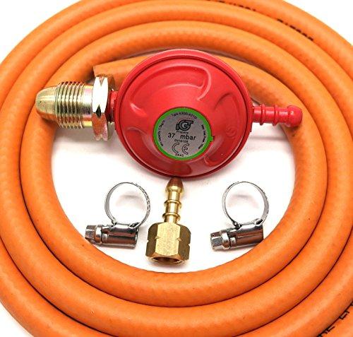 IGT 37mbar Propan Gas Regulator Conversion Kit für die meisten Weber Q & LP Modelle -