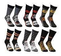Mens Star Wars Socks (12 Pack) Official Star Wars Socks