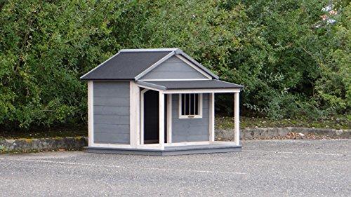 Animalhouseshop.de Hundehütte Wooff Large 130x118x108cm - 2