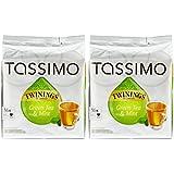 Tassimo Twinings Thé Vert à la menthe - 2 paquets de 16 disques