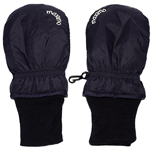 Handschuhe / Fausthandschuhe - ' BLAU ' - BABY - Größe: 9 bis 18 Monate - mit langem BAUMWOLLE Schaft - wasserdicht + atmungsaktiv - leicht anzuziehen - Fäustlinge Thermo gefüttert Fleece - Neugeborene - Fäustlinge / Babyhandschuhe - Erstlingshandschuhe / Fausthandschuh Handschuh Fäustling - Kinder Mädchen Jungen Kratz