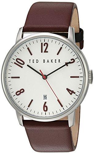 Ted Baker 10030755 - Reloj de Pulsera Hombre, Color Rojo