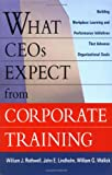 What CEOs Expect from Corporate Training