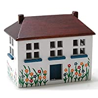 Melody Jane Dolls House Miniature Nursery Painted Wooden Dolls House Toy Chest