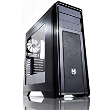 Nox Hummer ZX - Caja de Ordenador Torre ATX, Color Negro