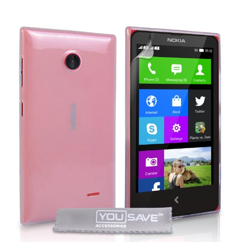 yousave-accessories-nokia-x-case-clear-silicone-gel-cover