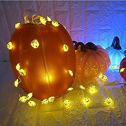 Luces Calabaza de Halloween LED con control remoto
