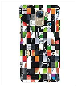 PRINTSWAG PUZZLE Designer Back Cover Case for HUAWEI HONOR 7