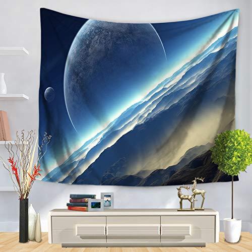 jzxjzx Tapisserie Galaxie Universum Wandbehang Dekoration 10 150 * 130