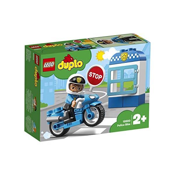 LEGO Duplo - Moto della Polizia, 10900 2 spesavip
