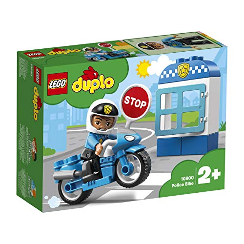 LEGO 10900 Duplo Town Police Bike Building Blocks Best Price and Cheapest