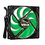 Nanoxia Deep Silence Boitier PC Ventilateur - Ventilateurs, refoidisseurs et radiateurs (Boitier PC, Ventilateur, 12 cm, 1100 TR/Min, 1800 TR/Min, 12,2 DB)