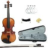 Kinglos PJB1002 4/4 Massivholz Schüler Akustische Violine Geige Anlasser Ausrüstung in Voller Größe