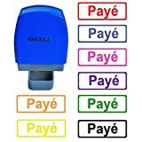 SSEELL Payé Tampon Encreurs Auto-encreur Bureau self Cachet Stamp Office Pre Inking Timbre - Vert