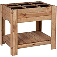 Catral 31090015 - Huerto urbano Germin 60, 60 x 80 x 80 cm (altura cubeta 25 cm), madera de pino