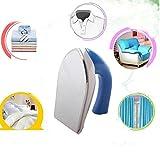 MEDIAWAVE Store Mini ferro da stiro elettrico piccolo e maneggevole ideale da viaggio portatile