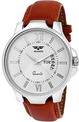 Asgard Analogue White Dial Men's & Boy's Watch – 158-Dd1