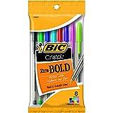 #8: Bic Usa Inc BICMSBAP81 19627 Bic Cristal Xtra Bold Pack Of 8