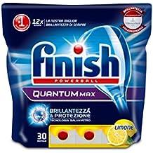 Finish Quantum Max 30 Tabs Lemon, 465 gr