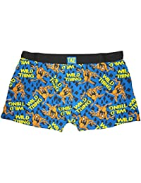 Mens Taz Boxer Shorts Great Gift S M L or XL Wild Thing Taz Picture Print