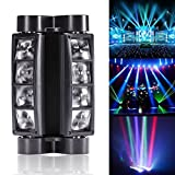 U`King Spider Moving Head Licht DMX512 lichttechnik mit 8x3W RGBW