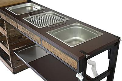 Outdoorküche Edelstahl Preisvergleich : Outdoorküche außenküche gartenküche sommerküche partyküche mit