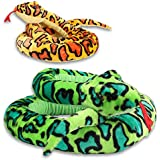 XL peluche super doux Serpent
