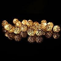 Aution House Diverse FormeBatteria Caricata Strisce LED per Addobbi Natalizi,