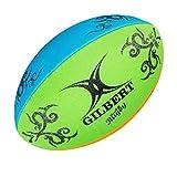 Gilbert Rugby Unisex Multi Rugby Beach Ball, Mehrfarbig, Größe 4