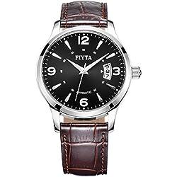 FIYTA Men's Steel Quartz Watch - Classic