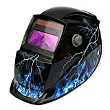 LESOLEIL Elettrico Casco Saldatura Maschera di Saldatura Solar Energy Automatico Rettifica Mask
