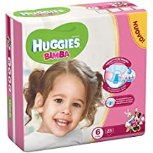 Huggies - Bimba - Pañales - Talla 6 (15 - 30 kg) - 23 pañales