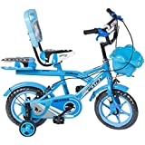 Speed bird cycle industries 12-T Robust Double Seat Baby Bicycles for Boys and Girls, 2-5 Years (Sky Blue, mfn2017)