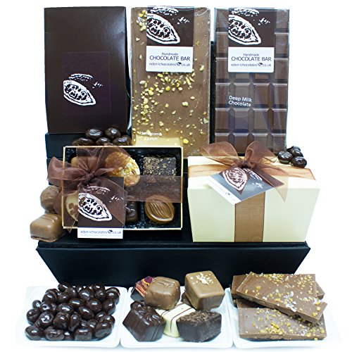 CHOCOHOLICS DREAM CHOCOLATE HAMPER - Exclusive Chocolate Hampers Perfect for Birthday Easter Christmas Mothers Day and Fathers Day