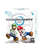 Mario Kart Wii + volant wii wheel