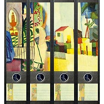 File Art AJ432 Design Etiketten Ordnerr/ückenschilder